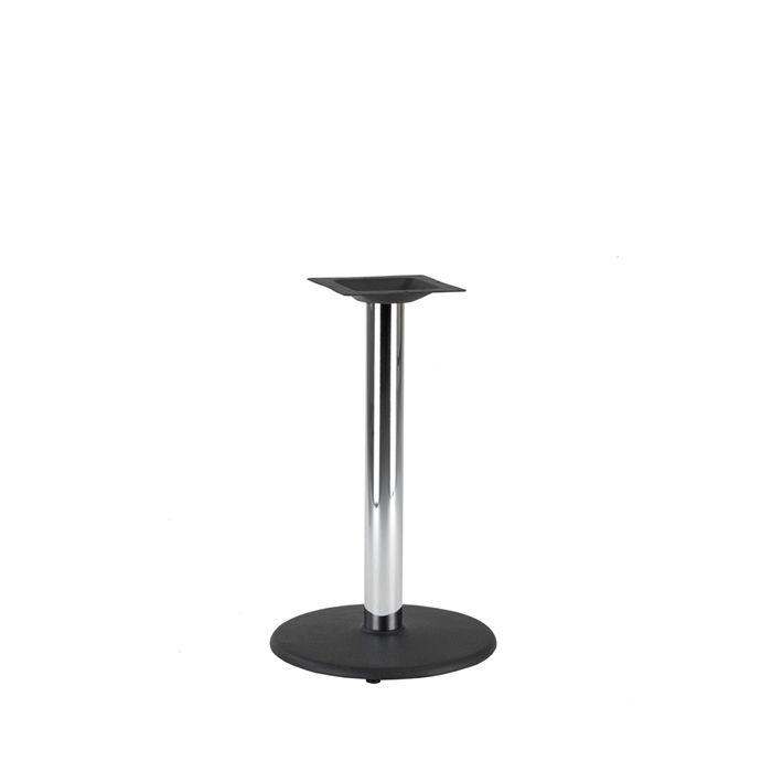 349-003 Orion Small Table Base (DH-Black/Chrome)