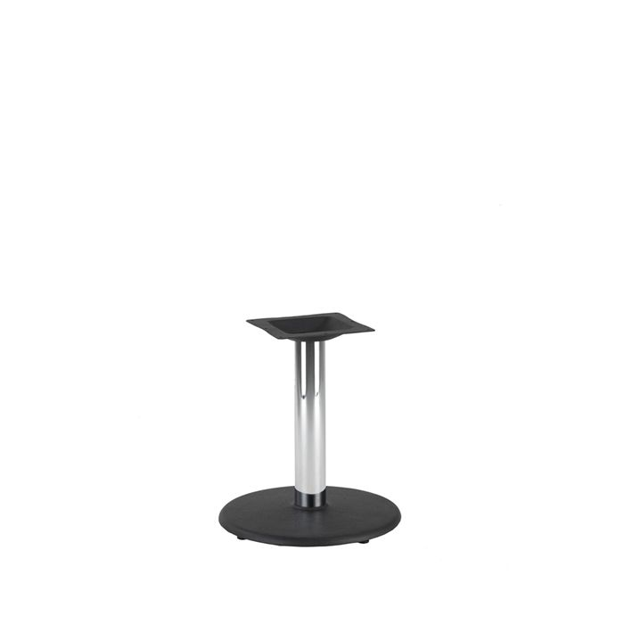 349-005 Orion Small Table Base (CH-Black/Chrome)