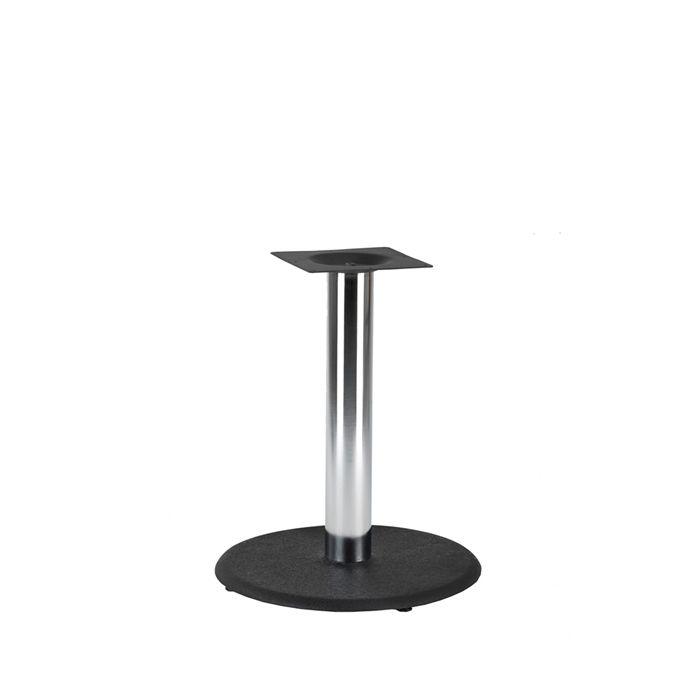 349-026 Orion Medium Table Base (DH-Black/Chrome)