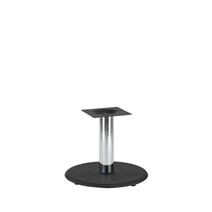 349-028 Orion Medium Table Base (CH-Black/Chrome)