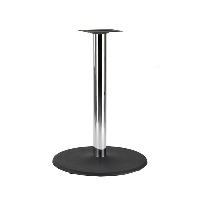 349-040 Orion Large Table Base (PH-Black/Chrome)