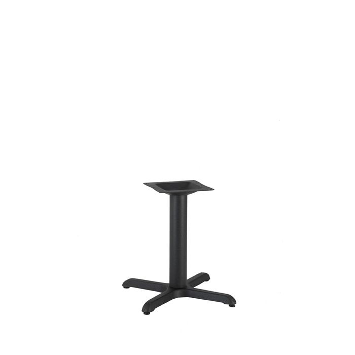 349-045 Atlas Small Table Base (CH-Black)