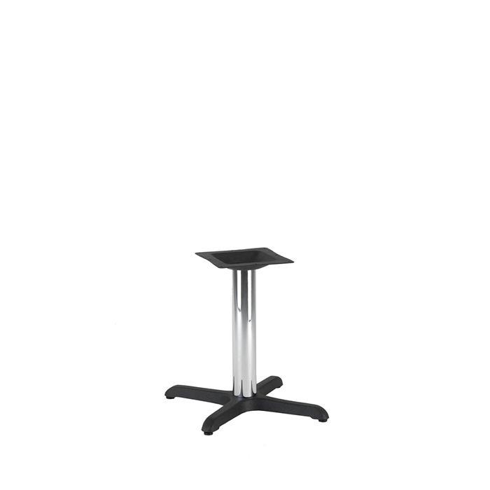 349-046 Atlas Small Table Base (CH-Black/Chrome)