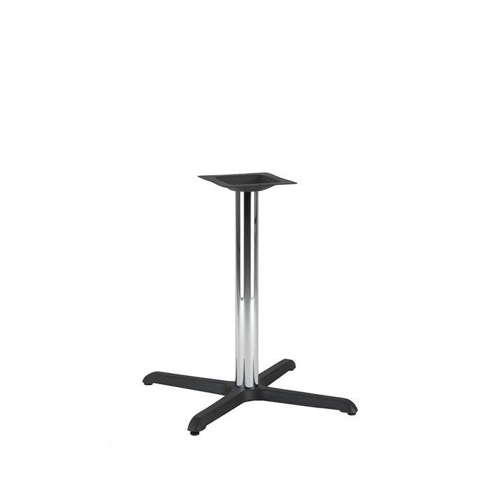 349-061 Atlas Medium Table Base (DH-Black/Chrome)