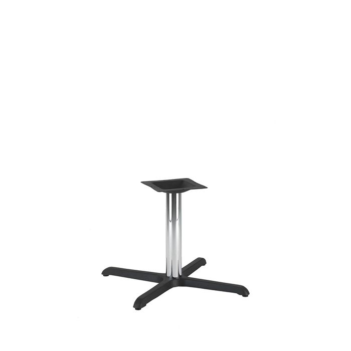 349-063 Atlas Medium Table Base (CH-Black/Chrome)