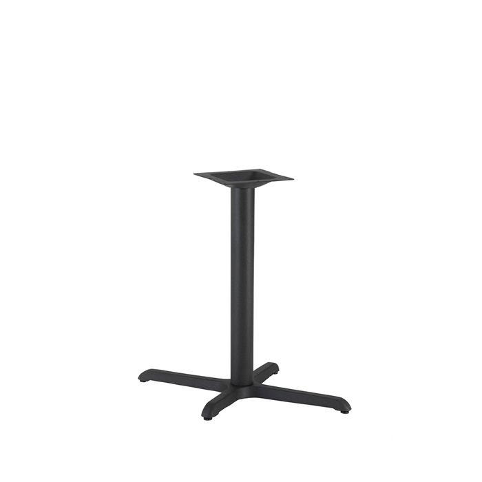 349-066 Atlas Single Rectangular Table Base (DH-Black)