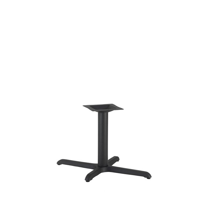 349-067 Atlas Single Rectangular Table Base (CH-Black)