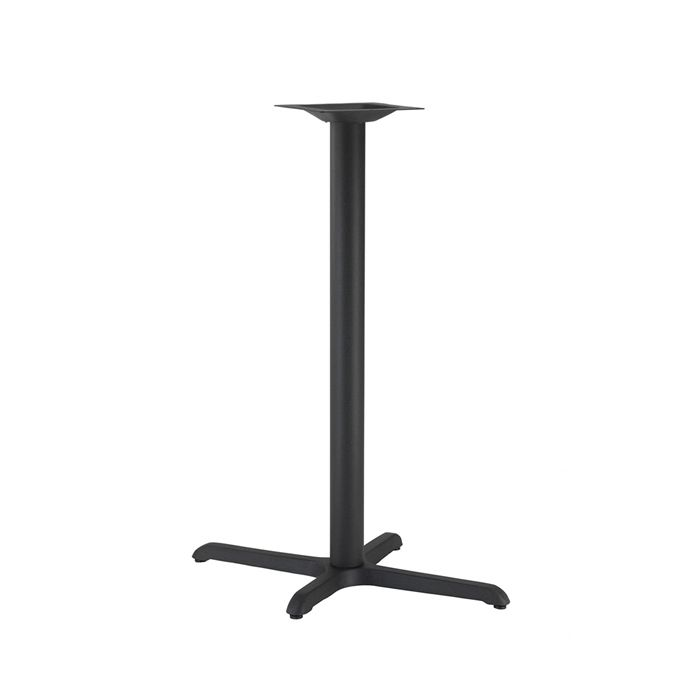 349-068 Atlas Single Rectangular Table Base (PH-Black)