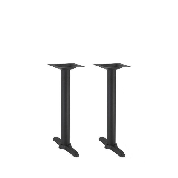 349-080 Atlas Twin Table Base (DH-Black)