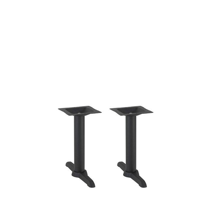 349-082 Atlas Twin Table Base (CH-Black)