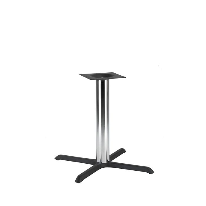 349-091 Atlas Large Table Base (DH-Black/Chrome)