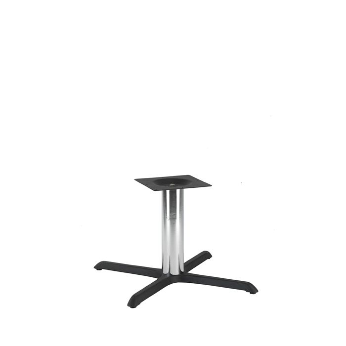 349-093 Atlas Large Table Base (CH-Black/Chrome)