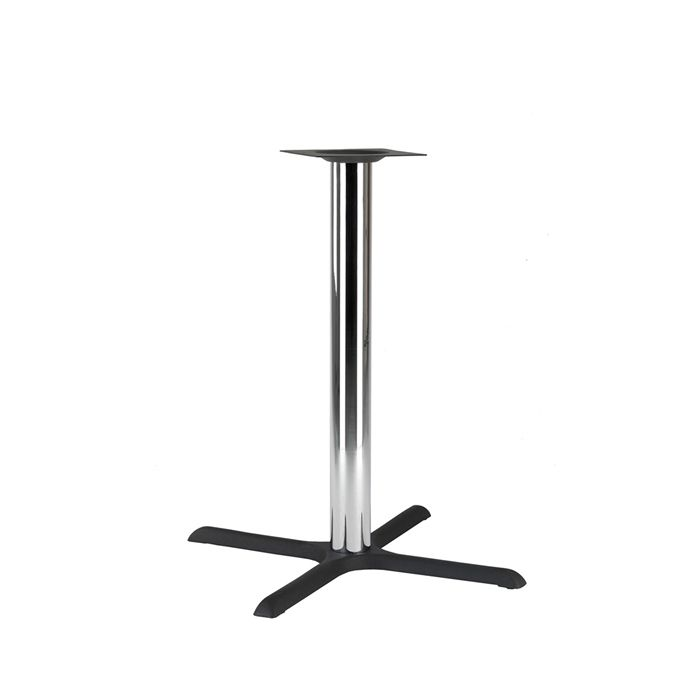 349-095 Atlas Large Table Base (PH-Black/Chrome)