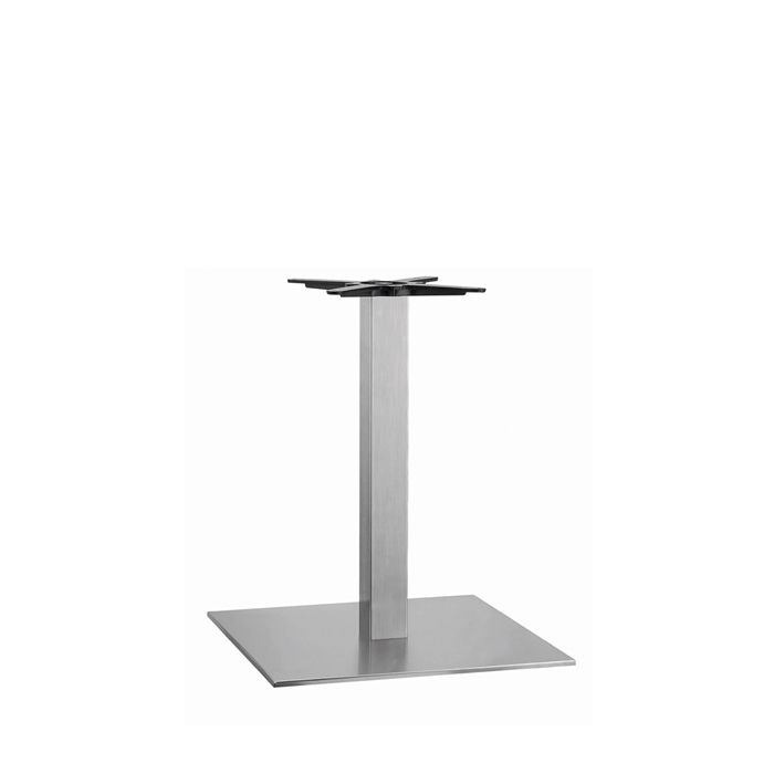 349-120 Apollo Large Square Base (DH-Stainless)
