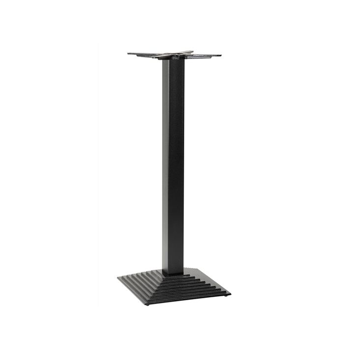 349-202 Arrow Stepped Square Table Base (PH-Black)