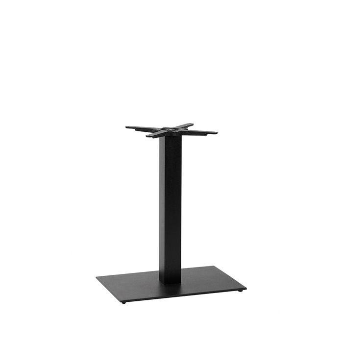 349-256 Titan Single Rectangular Table Base (DH-Black)