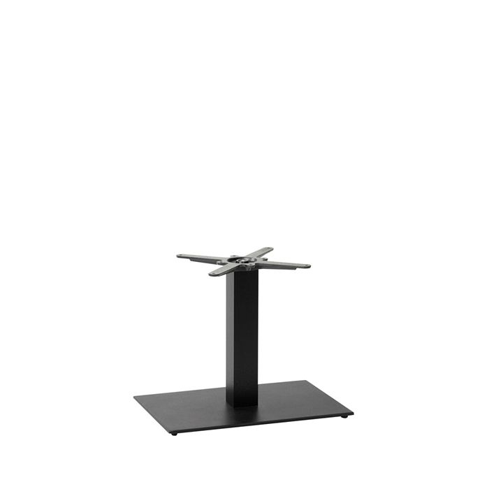 349-257 Titan Single Rectangular Table Base (CH-Black)