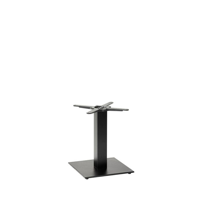 349-267 Titan Square Table Base (CH-Black)