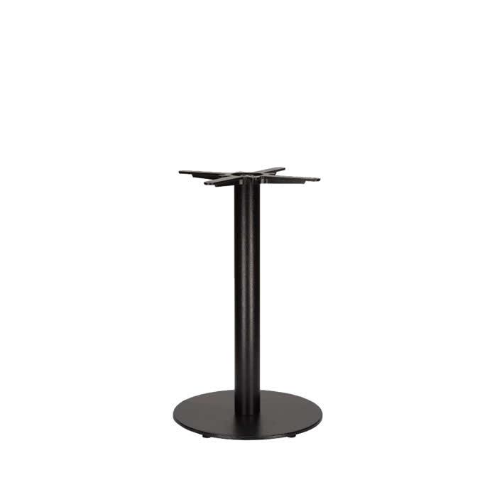349-310 Titan Small Round Table Base (DH-Black)