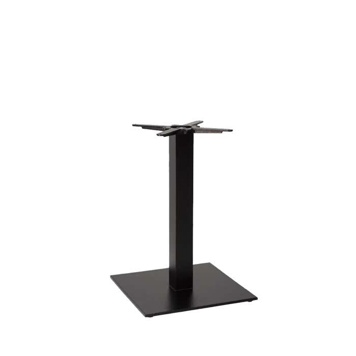 349-325 Titan Large Square Table Base (DH-Black)