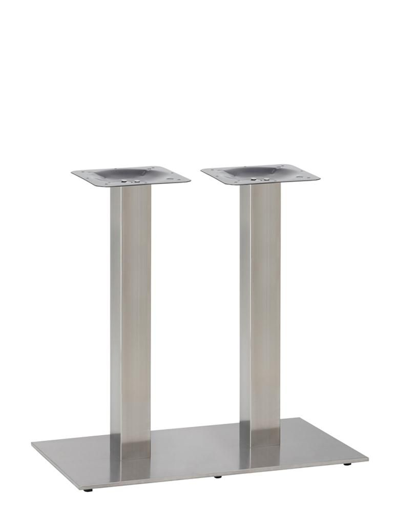 349-398 ECO Rectangular Twin Ped Table Base(DH-Stainless)