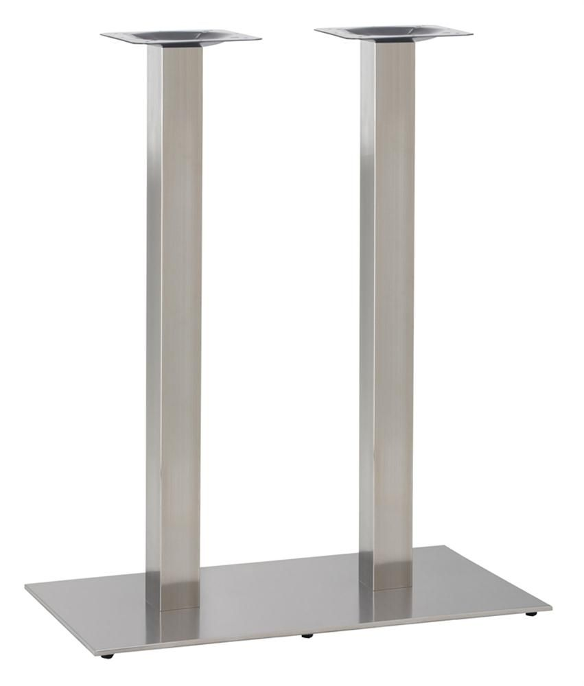 349-399 ECO Rectangular Twin Ped Table Base(PH-Stainless)