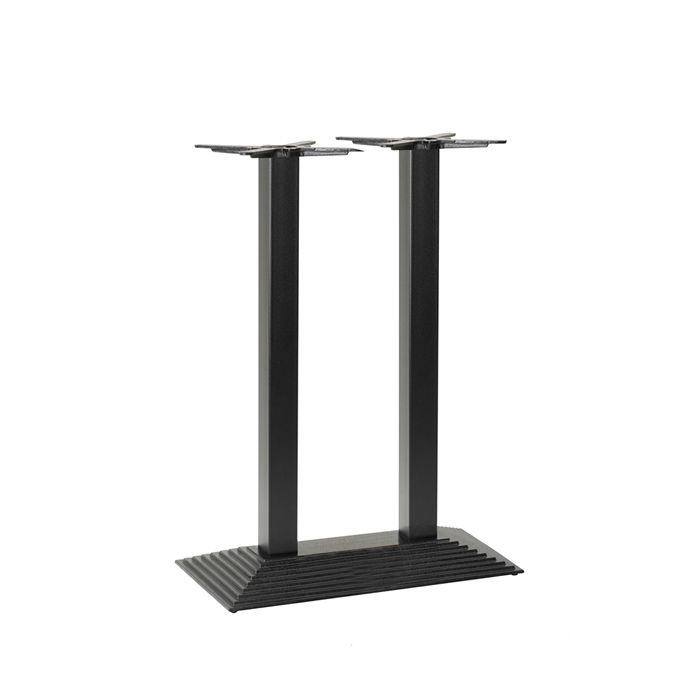 349-428 Arrow Rectangular Twin Table Base (PH-Black)