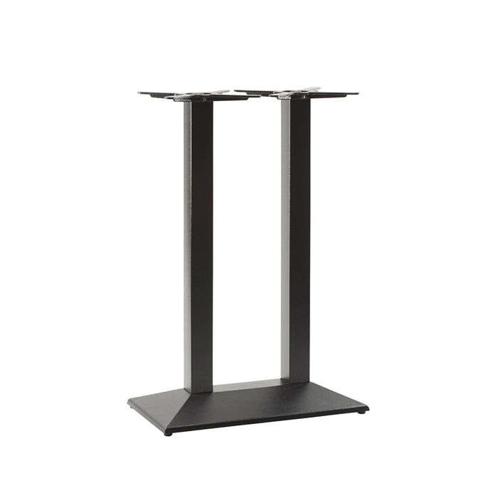 349-437 Hudson Twin Rectangular Table Base (PH-Black)
