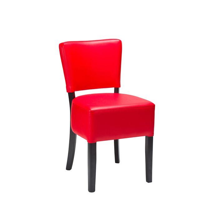 600-468 Alto Veneto Red Faux / Black Frame