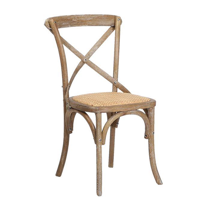 600-493 Gem Side Chair (Oak)